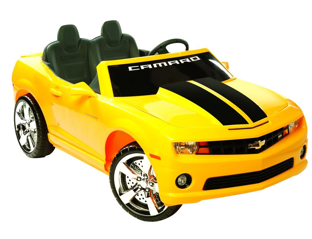 extreme camaro ride on 12v power wheels toy electric car chevrolet