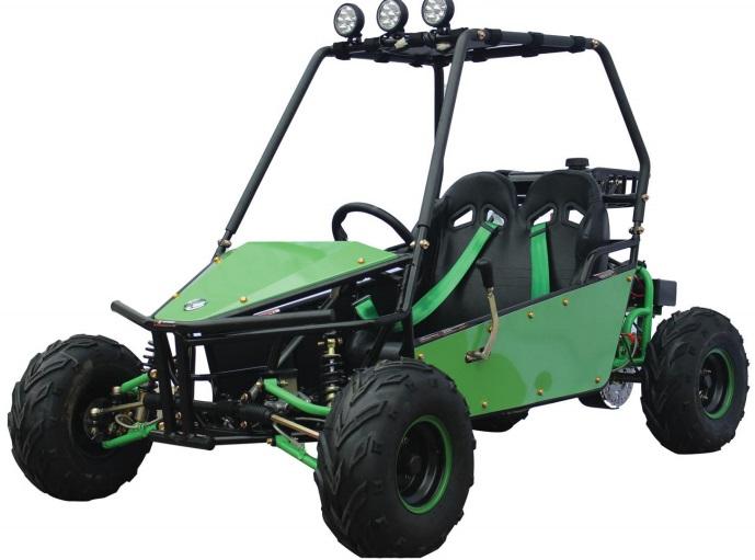 Kandi KD-125GKM-2 Go Kart, RAIDER 125cc Kids Kart, 125cc Go Cart