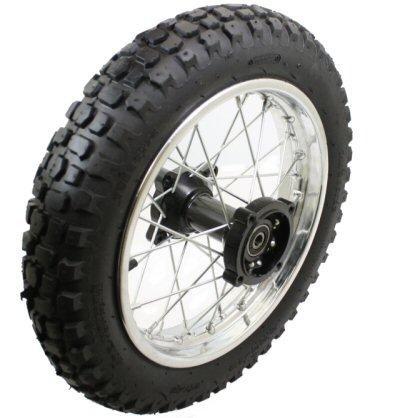 Bike 12 Inch Rear Wheel Assembly Disc Brakes Pit Bikes