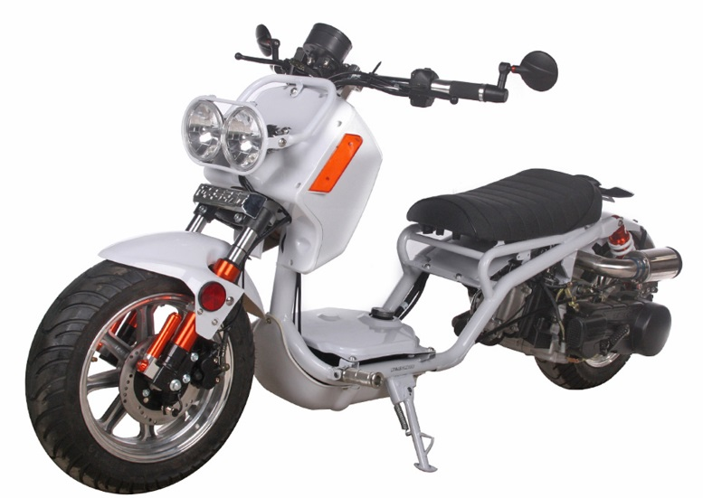 Extreme Motor Sales > Pitbull 150cc Lowered Stretched Gas Scooter ...