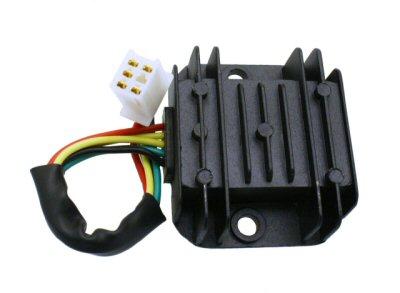 Extreme Motor Sales gt Dirt Bike 5 Pin Voltage Regulator