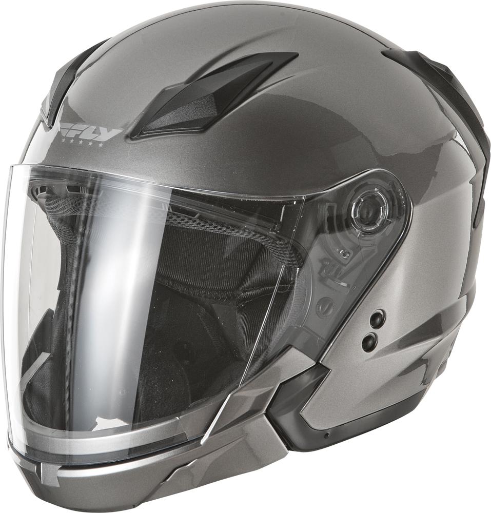 Fly Street Tourist Scooter Helmet Dot Motorcycle Hybrid