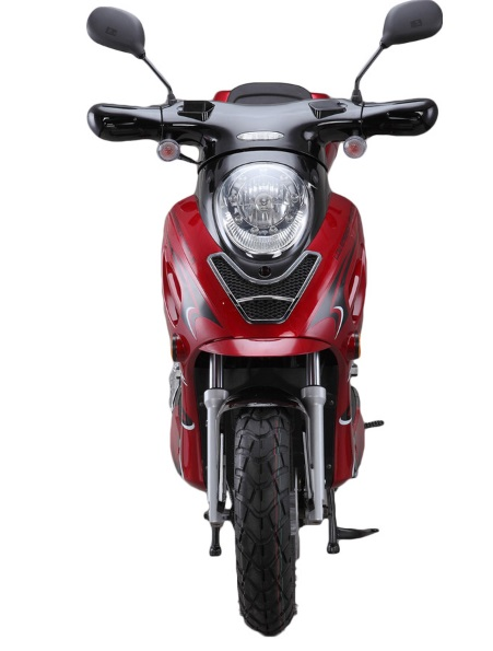 Challenger 50cc Gas Scooter 49cc Moped with 12
