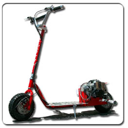 Dirt Dog 52cc Gas Powered Scooter