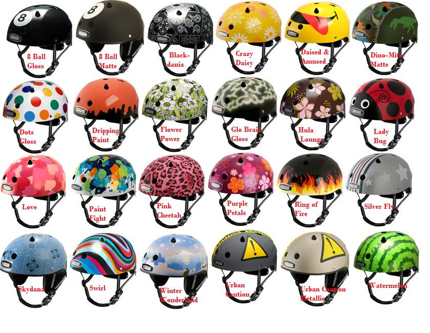 Amazoncom  Nutcase  Patterned Street Bike Helmet for