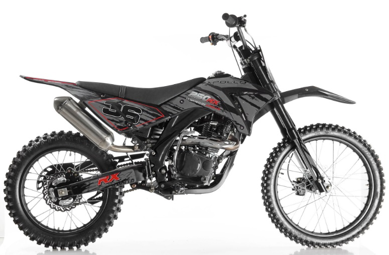 extreme motor sales apollo 250cc dirt bike motocross. Black Bedroom Furniture Sets. Home Design Ideas