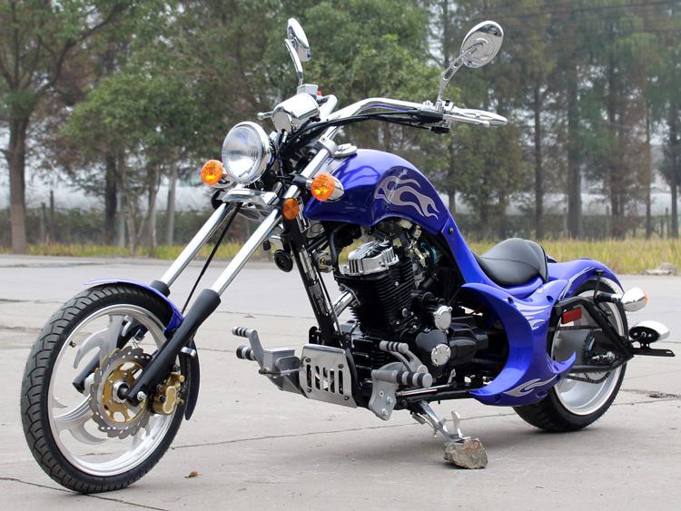Dragon 250cc Motorcycle Custom Chopper DF250RTF