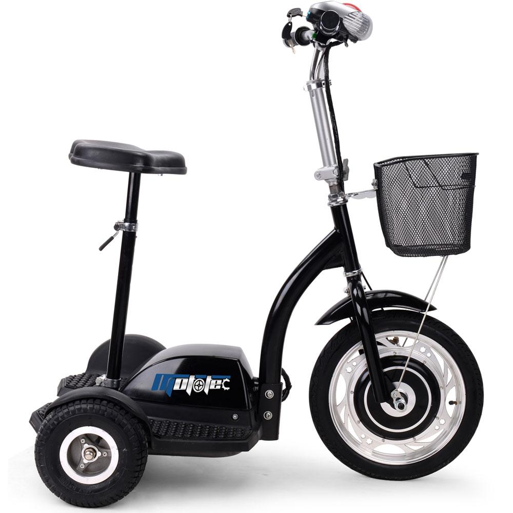 Moto Tec Electric Trike 3 Wheel 36v 350w Chariot Segway