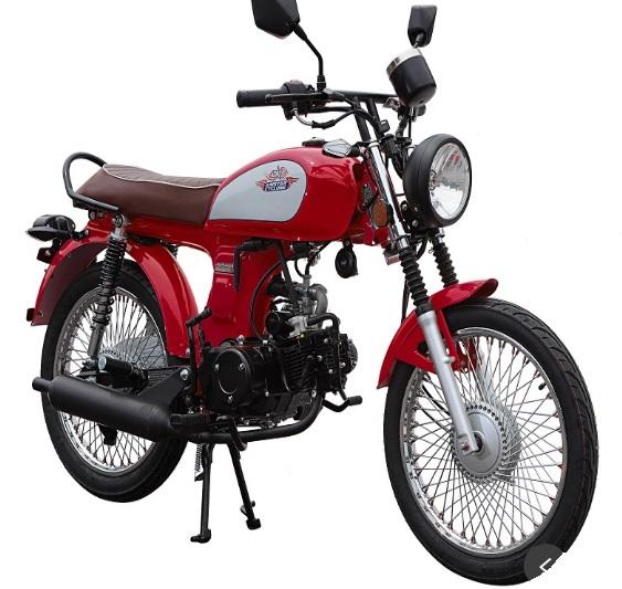 Amstar Nostalgia 49cc 50cc Scooter Motorcycle Street Legal Retro
