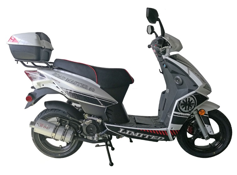 Roadmaster 150cc Scooter Street Legal Moped
