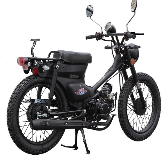 Amstar Rocky 49cc 50cc Scooter Motorcycle Street Legal Retro