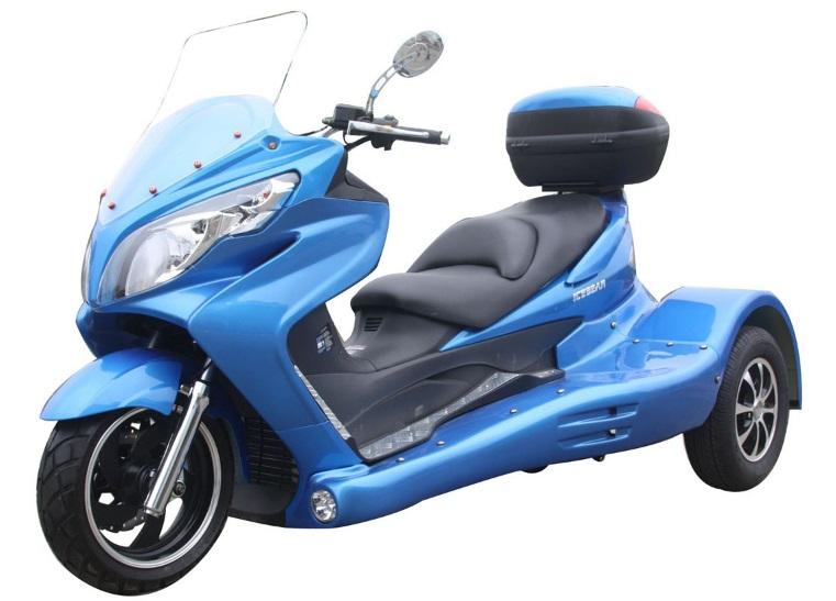 Zodiac 300cc Scooter Trike 3 Wheel Scooter PST300-19