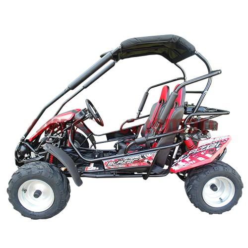Trailmaster Blazer 200R Kids Go Cart GoKart Off Road with Reverse 196cc