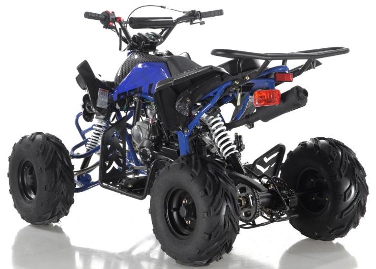 125cc Apollo Panther Sport ATV Kids Quad 4 Wheeler Blazer7