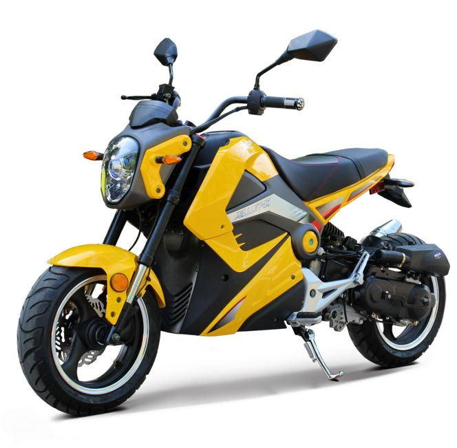 Extreme Motor Sales Gt Bullet 50cc Mini Motorcycle Grom