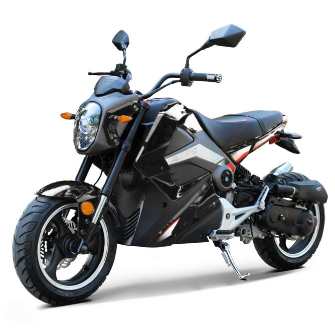 Motorcycle Riding Pants >> Bullet 50cc Mini Motorcycle Grom Replica Automatic Street Bike Scooter
