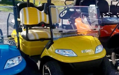 Electric Riding Vehicle >> ICON I40 L | ICON Electric Vehicles | ICON I40 Golf Cart