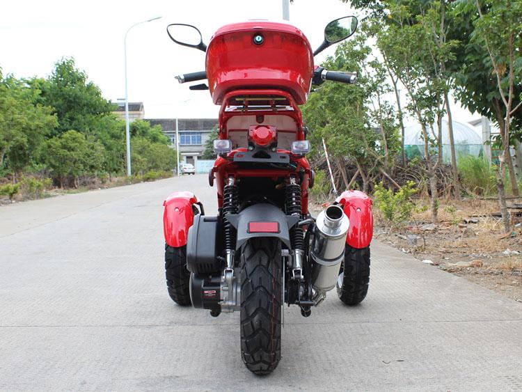 Df50tkc 50cc Reverse Trike Scooter 3 Wheel