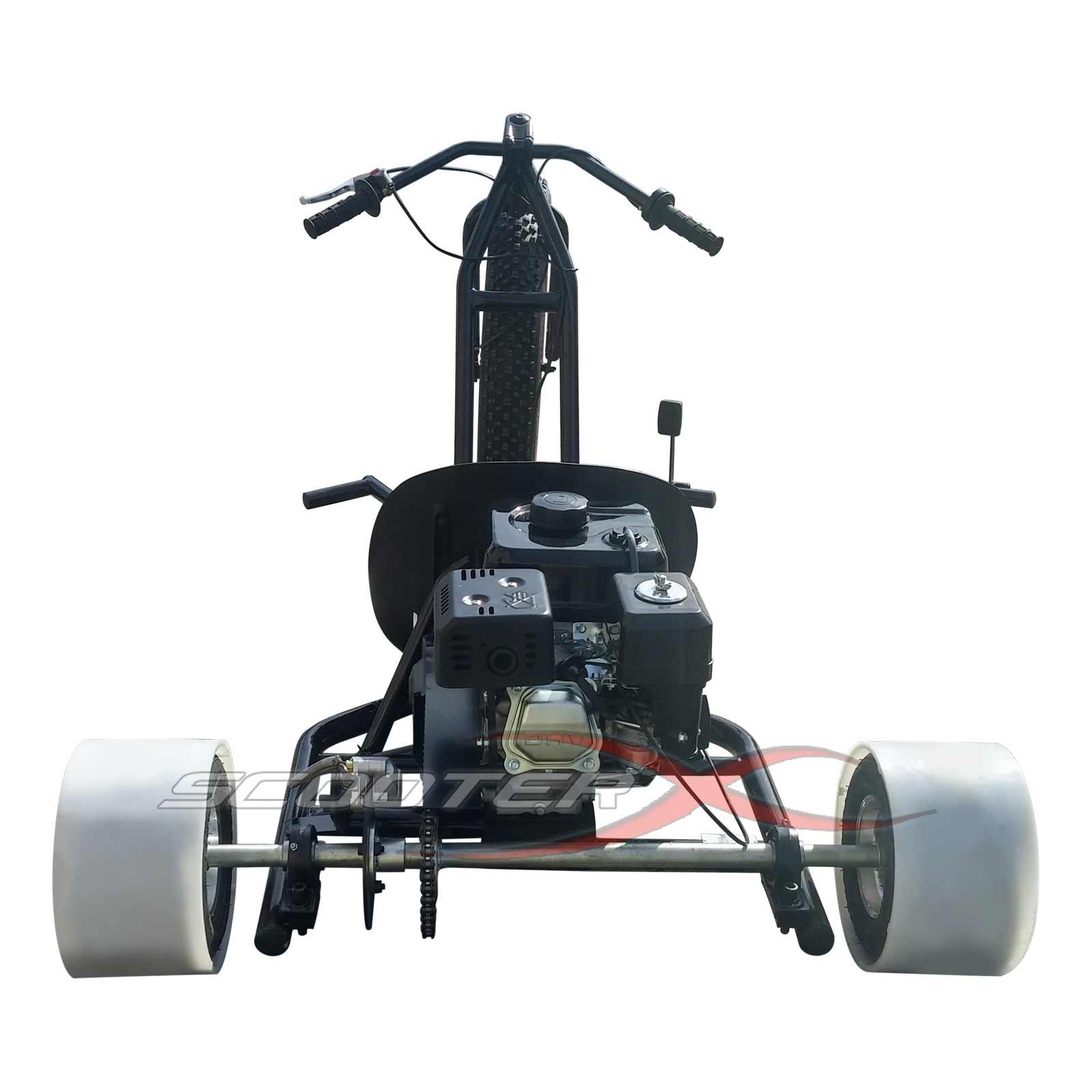 Extreme 6 5 HP Gas Drift Trike 3 Wheel Big Wheel
