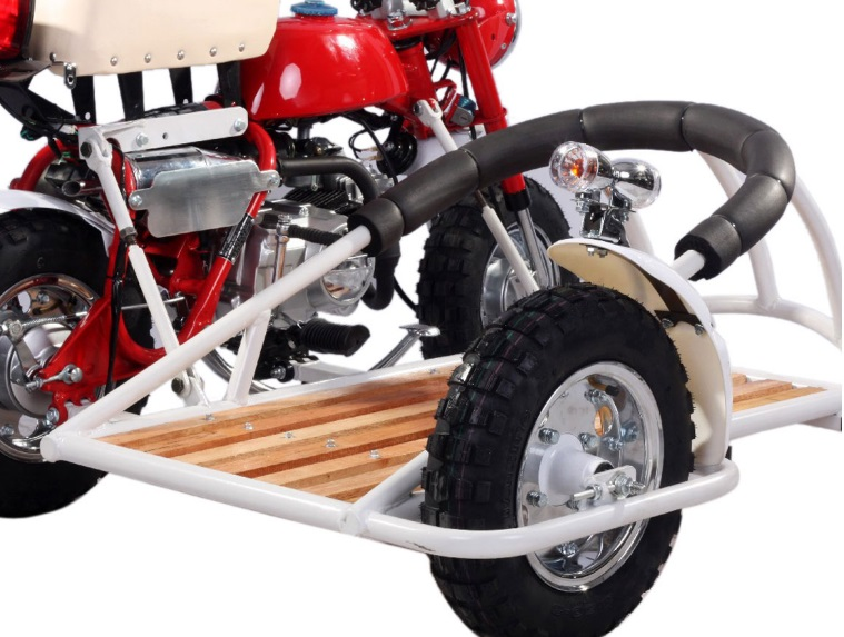 Mini Motorcycle Monkey Bike With Removable Side Car