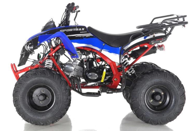 Apollo Sport Trax Kid 125cc ATV Utility Style ATV Kids Automatic