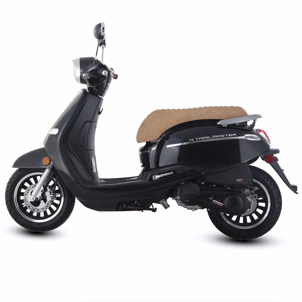 ... Trailmaster Turino 50A 50cc Gas Scooter Moped Retro Style ...