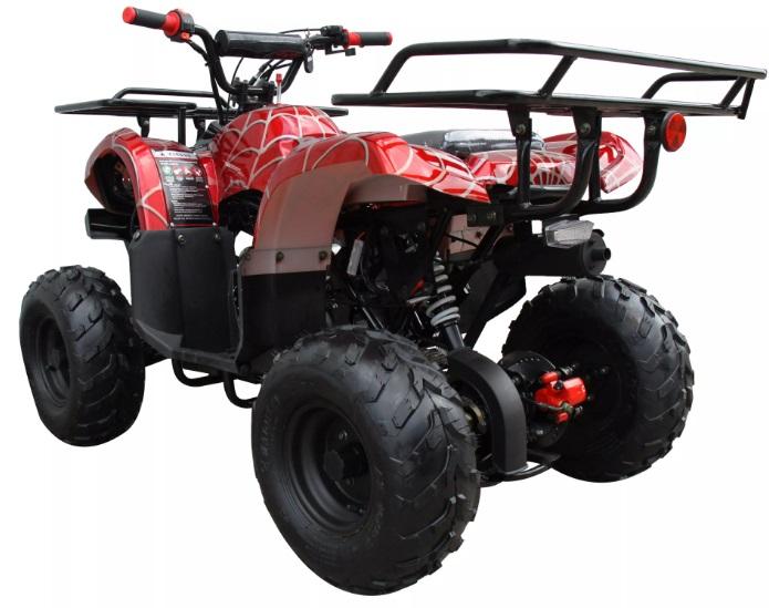Extreme UT-110 Kids ATV 110cc Kids Quad Mid Size 4 Wheeler on