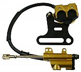 Mini ATV Rear Hydraulic Brake Assembly Kit Chinese 4 Wheeler