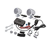Big Bike Parts (13-252BT) Bluetooth Stereo System Scooter Motorcycle