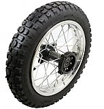 Dirt Bike 12 inch Rear Wheel Assembly Disc Brakes Pit Bikes