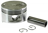 57mm Piston, Pin, and Circlips 150cc 4-stroke QMJ QMI/152 GY6 engines