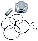 SSP-G GY6 Piston Kit for 4-Valve Head 58.5mm 61mm 63mm GY6