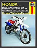 Haynes Repair Manual for Honda XR CRF 4-stroke Engines and Dirt Bikes