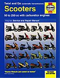 Haynes Repair Manual Scooters 50cc-250cc Chinese