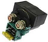 Universal Solenoid with 20 Amp Fuse for all vehicle types, includes spare fuse