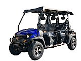 Bighorn 400EFI Gas Golf Cart 6 Seat Injected UTV 2WD/4WD
