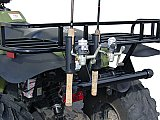 Catch & Release™ ATV & UTV Crossover Double Fishing Rod Holder