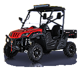 BMS Ranch Pony 700cc 4x4 UTV Utility Vehicle Side X Side EFI 43HP