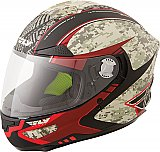 Fly Street LUXX Full Face Helmet DOT Motorcycle