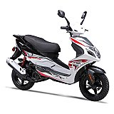 Wolf Blaze 50cc Gas Scooter Moped 49cc Street Legal 2 Year Warranty