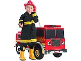 Extreme Fire Truck Ride-On 12V Power Wheels Toy Electric Kalee