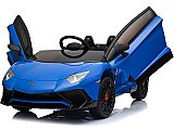 Mini Moto Lamborghini 12v 2.4ghz RC Blue or White Parental Remote Control