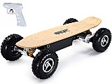 MotoTec 1600w Street Electric Skateboard Maple Wood Deck and Remote