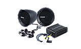 MXABMB2 - 2 Black Bullet Style Powersports Speaker Kit