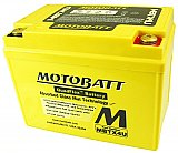 Motobatt Quadflex Battery 12V 4ah Small ATV Scooter 2 Year
