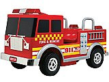 Extreme Fire Truck Ride-On 12V Power Wheels Toy Electric