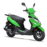 Wolf RX-50 50cc Gas Scooter Moped 49cc Street Legal 2 Year Warranty