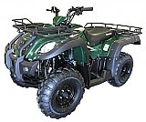 Canyon 250cc ATV Utility Semi-Auto Quad Shaft Drive 5 Speed with Reverse