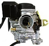 QMB139 50cc 4-stroke Carburetor, Type-4 for Scooters