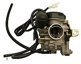 QMB139 50cc 4-stroke Carburetor, 21mm Intake